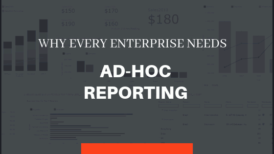 Why Every Enterprise Needs Ad-Hoc Reporting