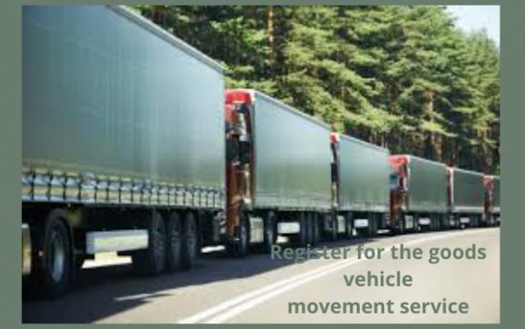 goods vehicle movement service