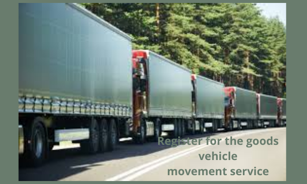 goods vehicle movement service